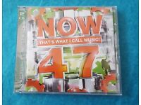 NOW THAT'S WHAT I CALL MUSIC! 47 Double CD Album
