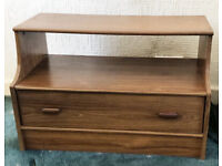 Wooden TV Unit & Drawers