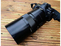Russian Mirror Lens - 1000mm - with Canon EOS T2 Mount