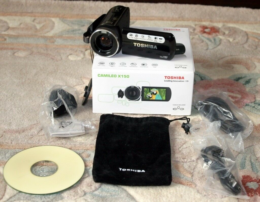 Toshiba Camileo X150 Full HD 1080p Camcorderin Wakefield, West Yorkshire - Toshiba  Camileo X150 Full
