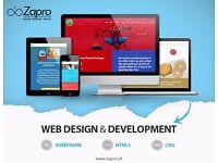 Website Design and Development , E - Commerce, Mobile Application, Branding , SEO , Animation Video