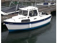 Boat hardy fisher 20