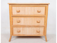 Chest of Drawers Bamboo EX DISPLAY *FREE LOCAL DELIVERY*