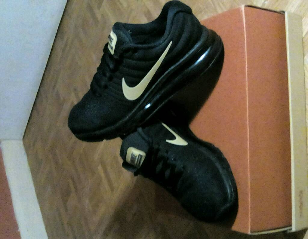 more photos d3022 0f05f Nike Air Max 2017 - Black and Gold   in Widnes, Cheshire   Gumtree