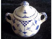 'Blue Denmark' Lidded Sugar Bowl