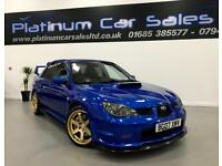 SUBARU IMPREZA WRX STI TYPE UK WIDETRACK (blue) 2007