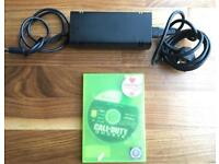 Xbox 360 charger and Call of Duty Ghost game