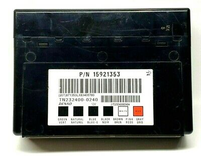 ✅ VIN PROGRAMMED Body Control Module 15921353 Fits GM 2006-2013 OEM