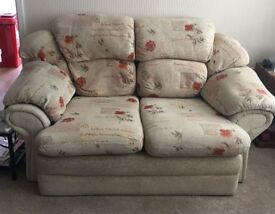2 x 2 seater sofas Excellent condition