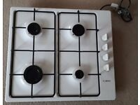 Bosch 4 Burner Gas Hob - White