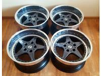 R17 3pc Splits BRAID FOLGER Cup4 Alloy wheels * 10J & 11J * OZ * BBS * BMW E36 E34 E39 M3 M5