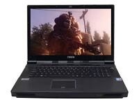 ROCK EXTREME 795 Gaming Laptop i7- 12GB Ram 256+1000GB SSD HD6970 2GB ATI XT
