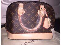 LV Louis Vuitton ALMA BB Bag - Quality