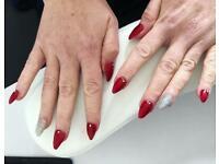 Lashes. Acrylic nails. Spray tans. Waxing. Tinting