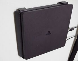 Playstation 4 Slim Looked After Perfect Cond. Boxed, Controller, 4 Games, Free Wall Mount
