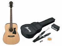 Ibanez V50NJP-NT Acoustic Guitar Jam Pack
