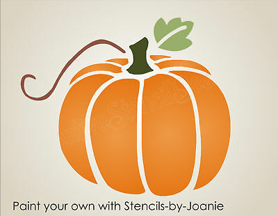 Joanie Prim Stencil Harvest Pumpkin Country Farm Market Fall Halloween Art Signs - Pumpkin Stencil