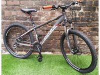 "Adults CARRERA VENGEANCE, 16"" Alloy Frame, 24 Speed Bike VGC! SERVICED RRP £430"