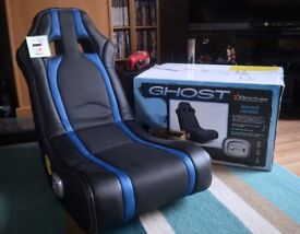 Gaming Chair, Ghost X Rocker (Sound Rocker)