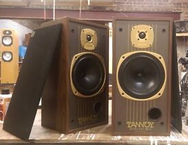 Vintage Tannoy Mercury MkII Speakers.