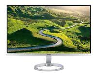 27'' Acer H277H IPS 4MS Monitor - 1 week old - 1920 x 1080 Dolby DTS built in speakers Slim Bezel
