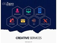 Website Design and Development, Mobile Application, Business Software, SEO, Animation Video