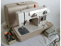 New Home Janome Heavy Duty Semi-Industrial Sewing Machine Excellent Condition SEWS LEATHER