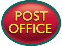 Post office Counter Clerk and Manager (post office experience is must)