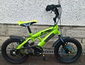 Last Exit 14 Inch Boys Bike, Stabilisers available