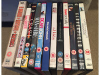 12 Movie / Film DVD's for Sale - including Crash, The Social Network & The Unsual Suspects