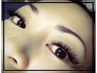 Russian 3D volume lashes and natural classic lashes from £35