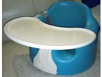 bumbo floor seat with tray and safety straps