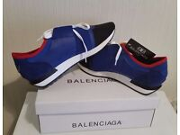 NEW BALENCIAGA ESSENTIAL TRAINERS - NEW WITH BOX & DUST BAG - UK SIZE: 7, 8 & 10 AVAILABLE