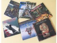Iron Maiden / Bruce Dickinson vinyl 45 singles