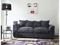 Dylans 3 Seater Grey Sofa - (Almost) Brand New