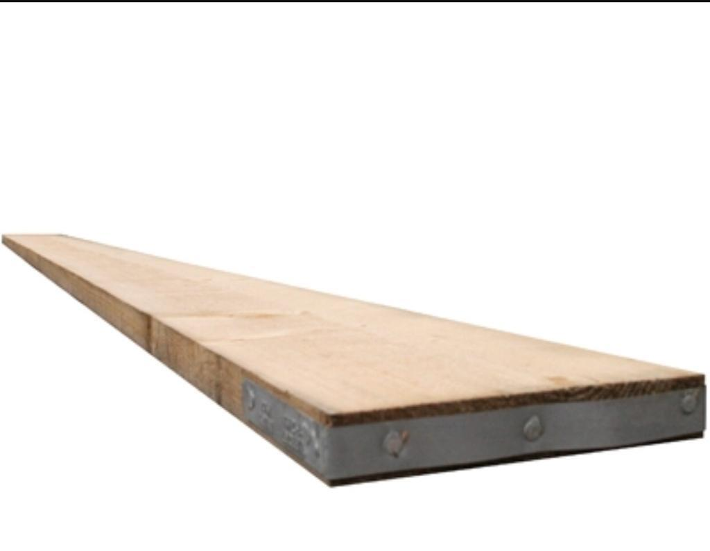 3.9m (13ft) new scaffold boards.