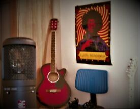 Cheap, high quality recordings for singer/songwriters- at a location of your choosing