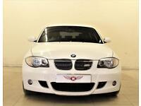 BMW 1 SERIES 2.0 118D M SPORT 3d 141 BHP Please call on 01908 888 466 (white) 2008