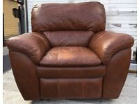 Reclining arm chair
