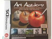 "Nintendo DS ""Art Academy"" game"