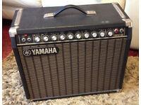 Yamaha G100 112 guitar amplifier combo.