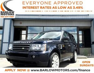 2008 Land Rover Range Rover Sport HSE**AMVIC INSPECTION & CARPRO