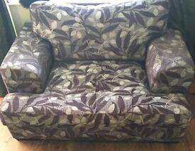Lovely cuddle chair