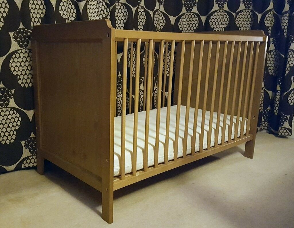 Ikea Leksvik cot with matress