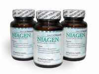 Age Reversing Niagen Nicotinamide Riboside 3 bottles x 30 caps x 250mg Livecell