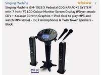 Singing Machine iSM-1028 Leader In Home Karaoke Machine