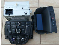 Vauxhall Astra MK6 J Radio stereo Display Control