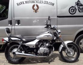 BEAUTIFUL 2007 KAWASAKI BN125 A7F ELIMINATOR ONLY 7981 MILES AMAZING CONDITION