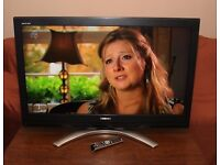 """TOSHIBA REGZA 42"""" LCD TV, Built in FREEVIEW, with remote."""