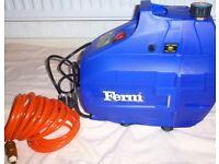 Ferm Portable Oilless Air Compressor Including Air Hose Line **UNUSED**